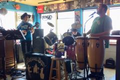 Strange Brew performs inside the Pub